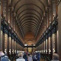 The Long Roomn at Trinity College,Dublin